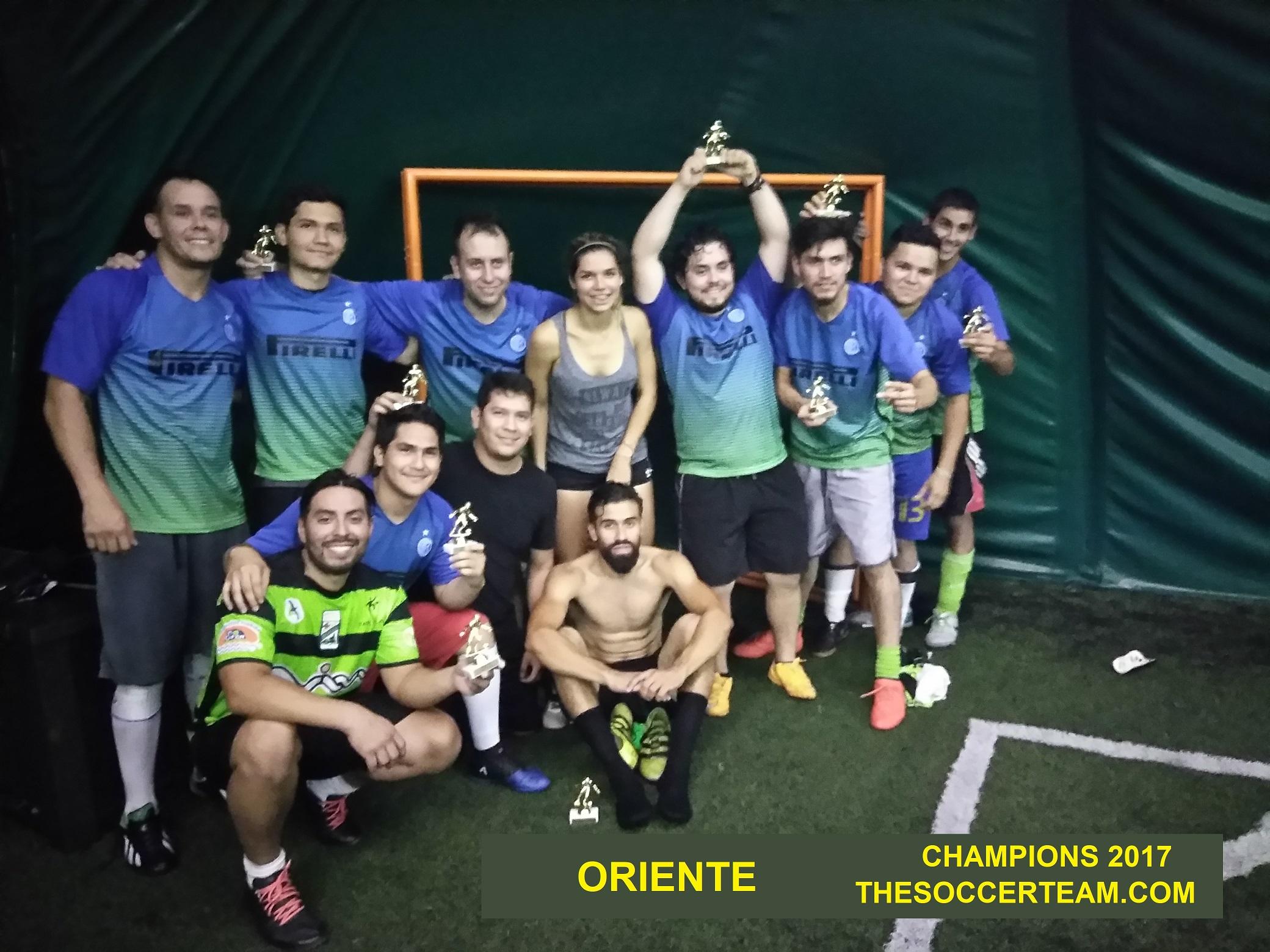 Oriente champions