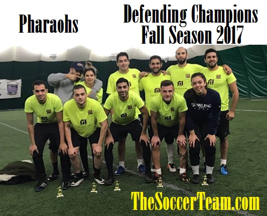 pharaohs champs 2017 fall season