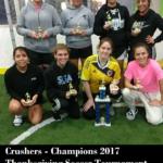 Crushers - Champions 2017