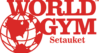 world gym setauket logo