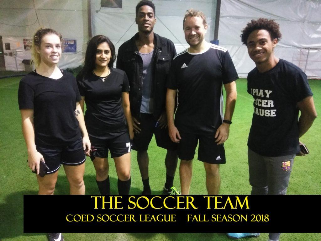 the soccer team garden city team