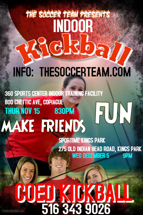 Copy of Kickball - Made with PosterMyWall