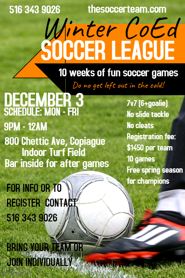 Copy of Youth Soccer Camp Poster - Made with PosterMyWall