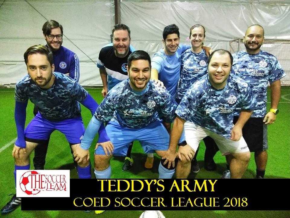 TEDDYS ARMY GARDEN CITY