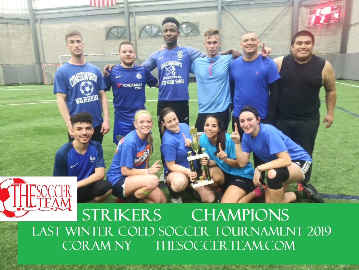 strikers courtney champs