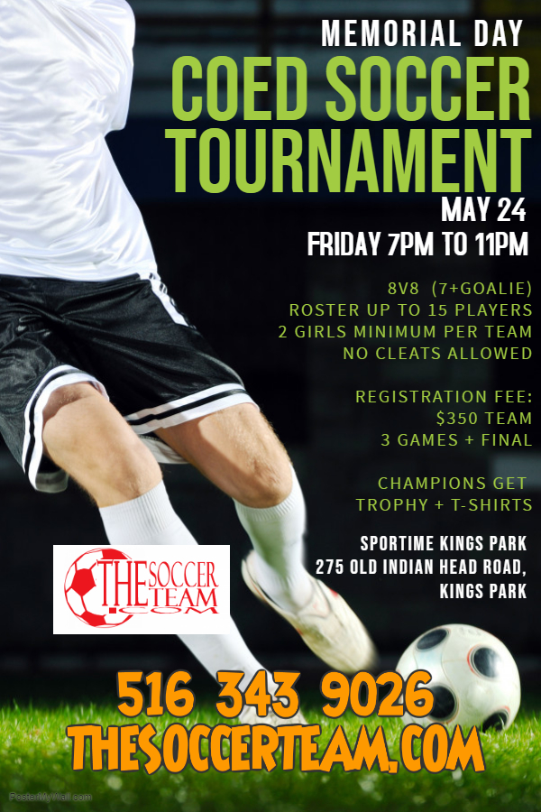 Copy of Soccer Game Flyer Template - Made with PosterMyWall (2)