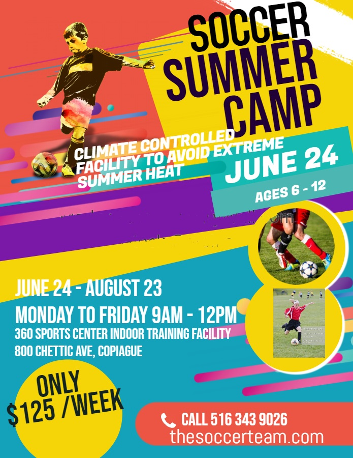 Copy of Soccer Camp Flyer Template - Made with PosterMyWall (2)