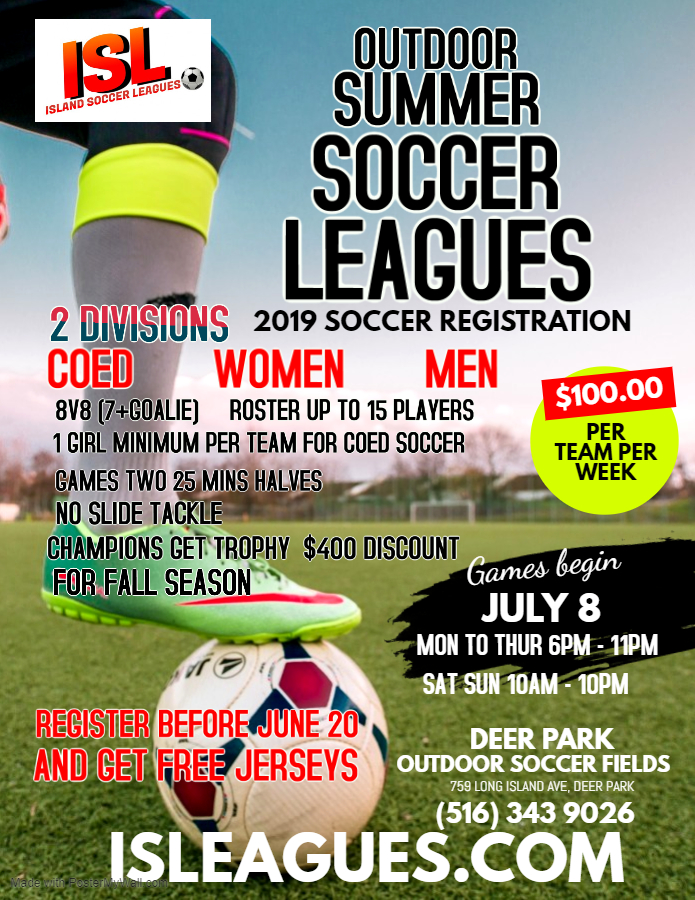 OUTDOOR SUMMER LEAGUES (2)