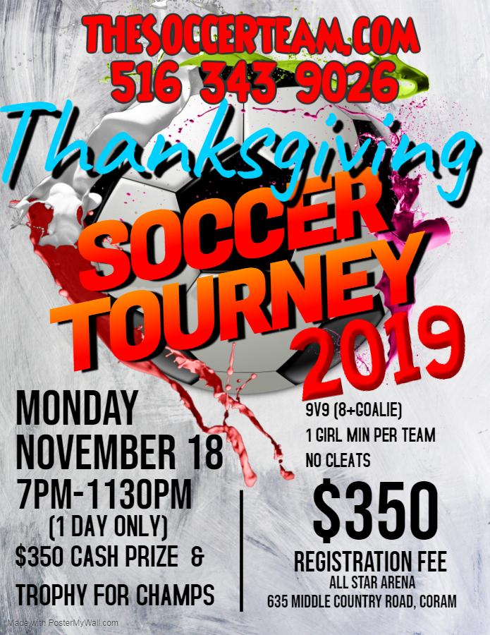 thanksgiving tourney 2019