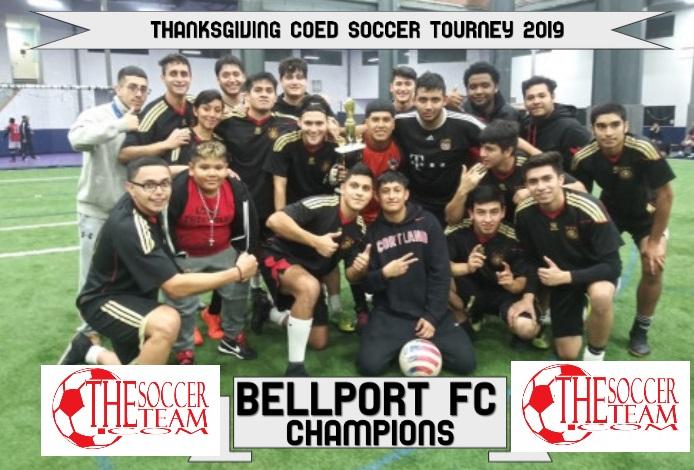 BELLPORT THANKSGIVIGN CHAMPS
