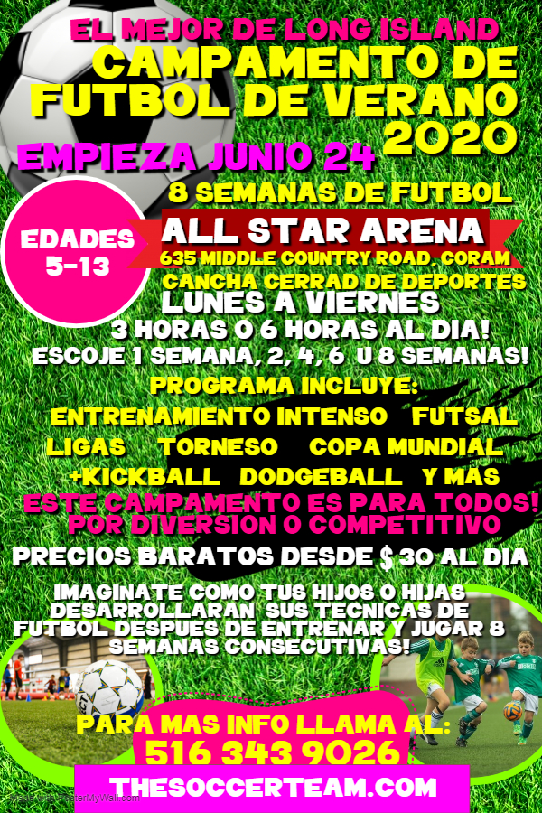 Copy of Copy of Copy of Soccer Camp Poster - Made with PosterMyWall