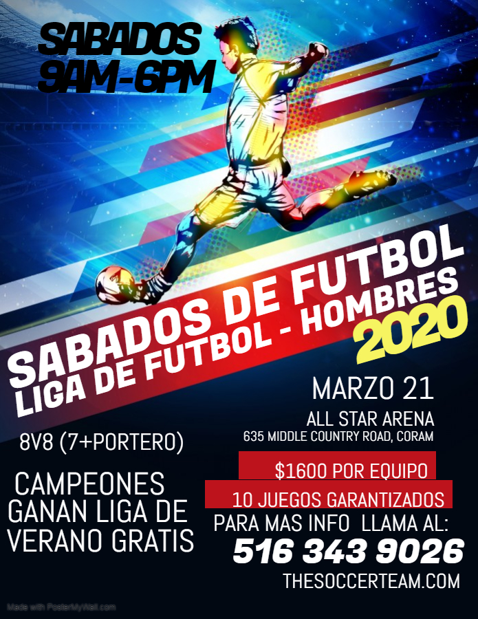 Copy of Copy of Futsal Football Tournament Flyer Poster - Made with PosterMyWall