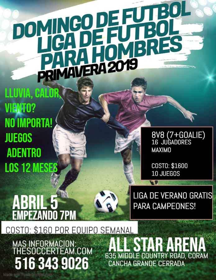 Copy of Copy of Soccer Futsal Football Tournament Flyer Poster Template - Made with PosterMyWall