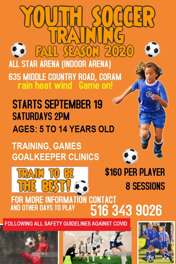 YOUT SOCCER FALL SEASON