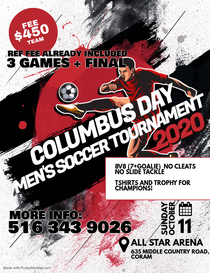 Copy of Soccer Futsal Tournament Flyer Poster - Made with PosterMyWall