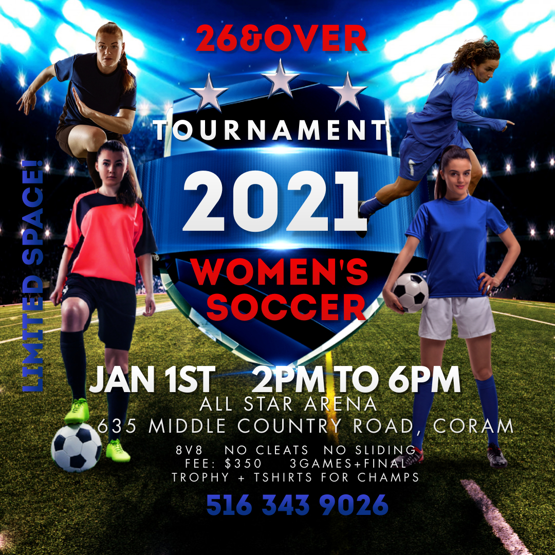 Copy of Blue Young Womens Football Instagram Post - Made with PosterMyWall