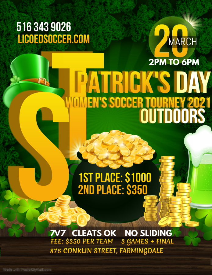 Copy of St Patricks Day Flyer Saint Patrick Party - Made with PosterMyWall (1)
