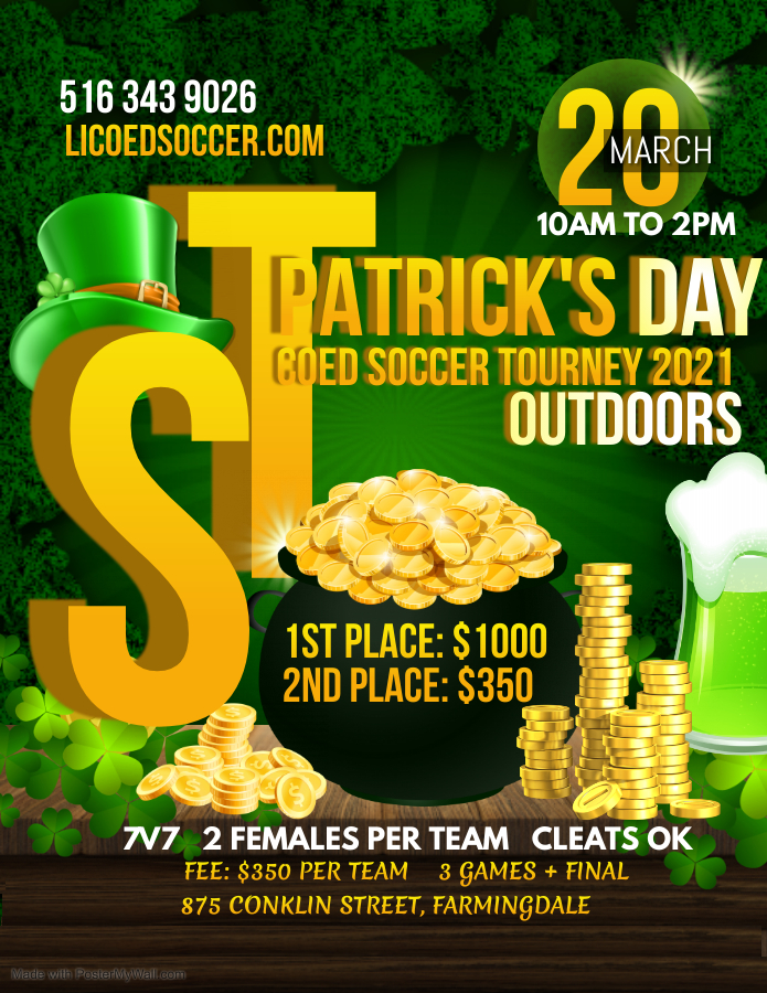 Copy of St Patricks Day Flyer Saint Patrick Party - Made with PosterMyWall