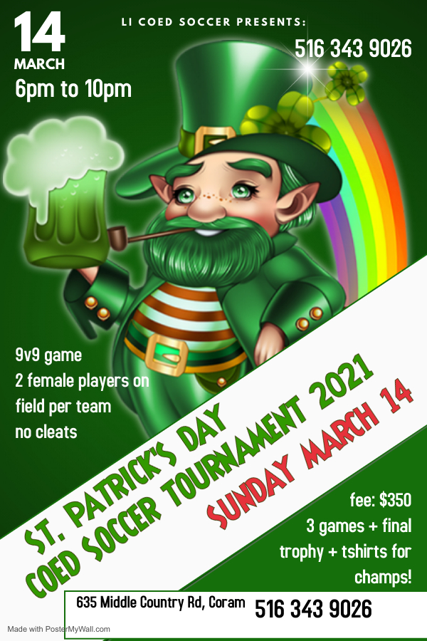 Copy of St Patricks Day Poster - Made with PosterMyWall