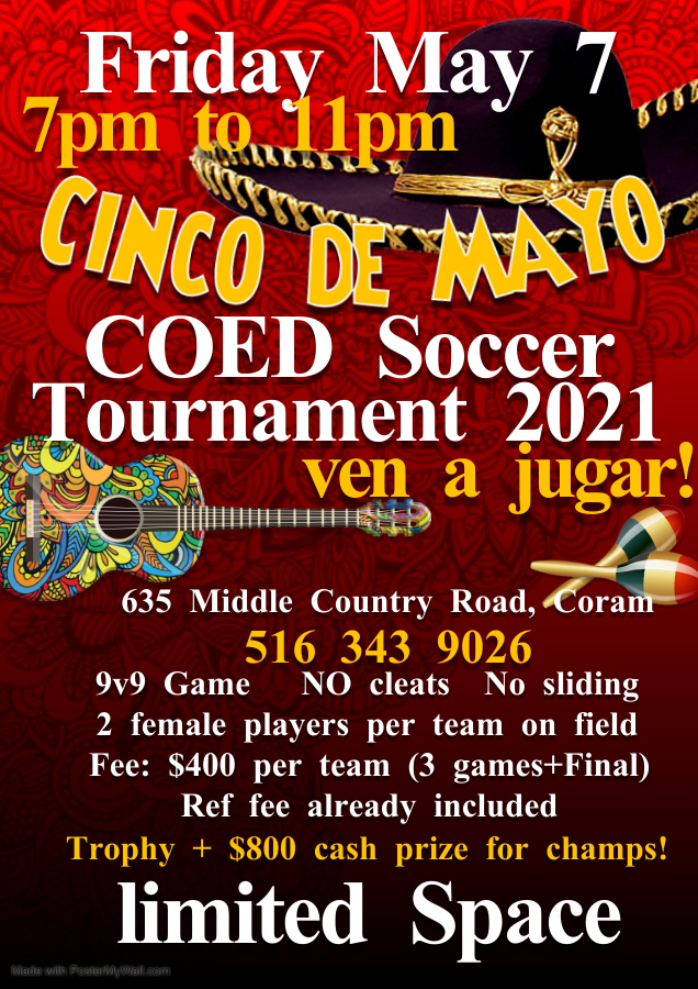 Copy of Cinco de Mayo party poster - Made with PosterMyWall