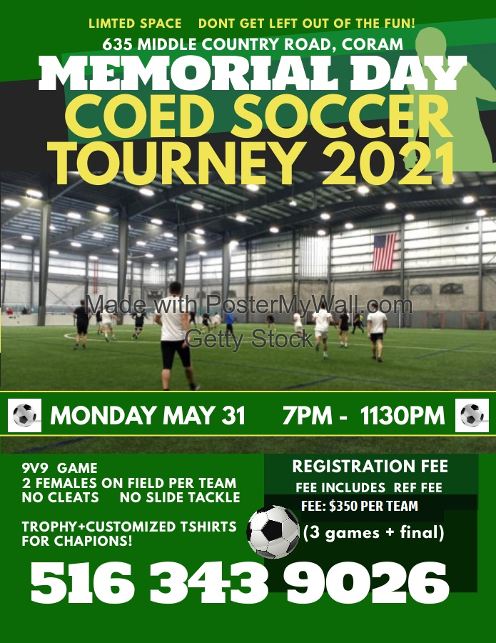 Copy of Copy of Soccer Tryouts Flyer Template - Made with PosterMyWall