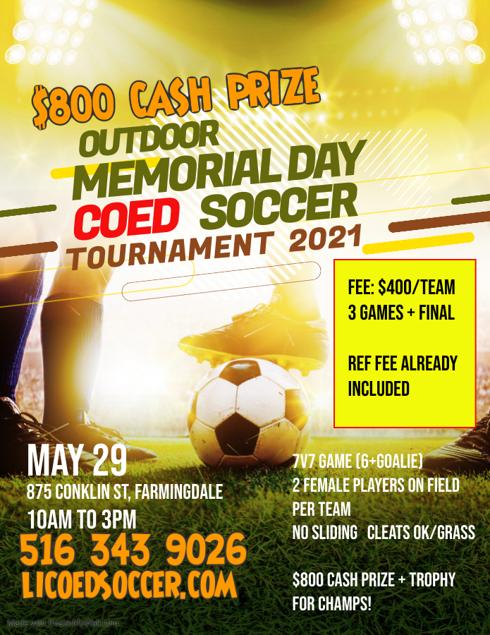 Copy of Soccer Futsal Football Tournament Flyer Poster Template - Made with PosterMyWall (2)