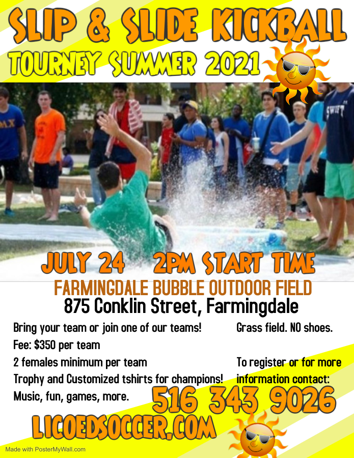 Copy of KICKBALL FLYER - Made with PosterMyWall