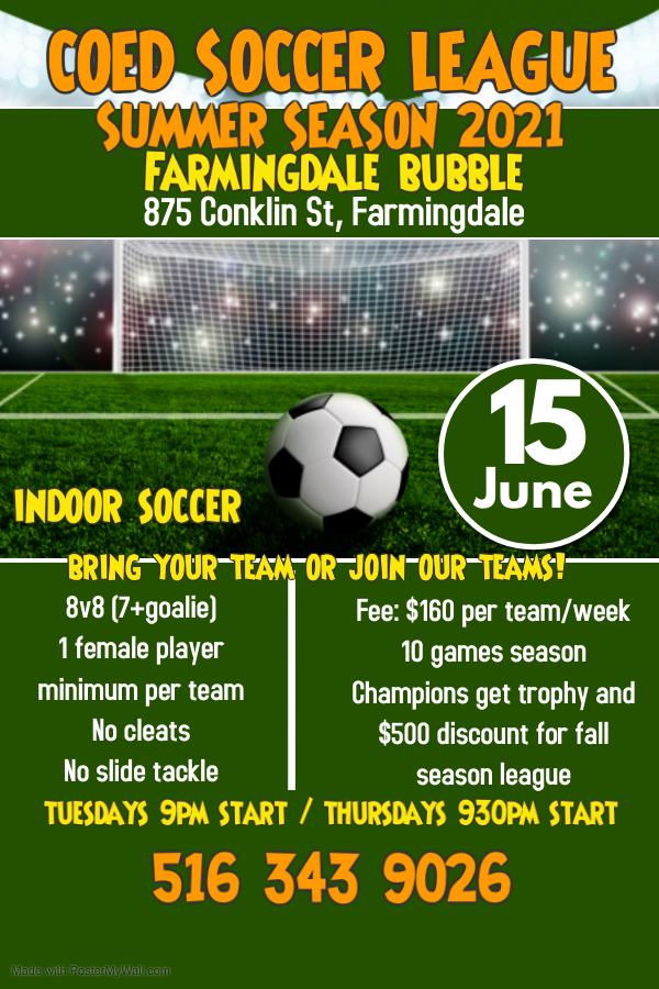Copy of Soccer Tournament Poster - Made with PosterMyWall (1)