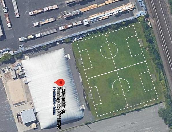 outdoor soccer farmingdale field