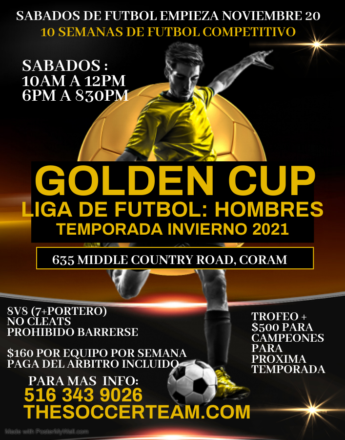 Copy of Copy of Soccer Poster - Made with PosterMyWall